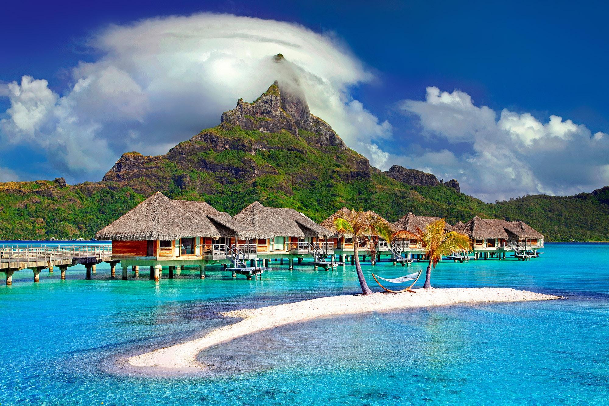 wyspa tropikalna