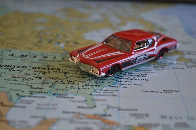 wynajem auta zagranicą podczas wakacji